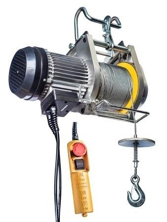 электрическая мини-лебедка BH