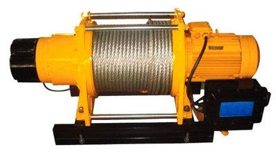 электролебедка строительная KDJ