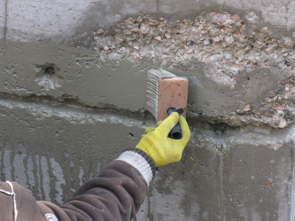 Защита бетона пропиткой