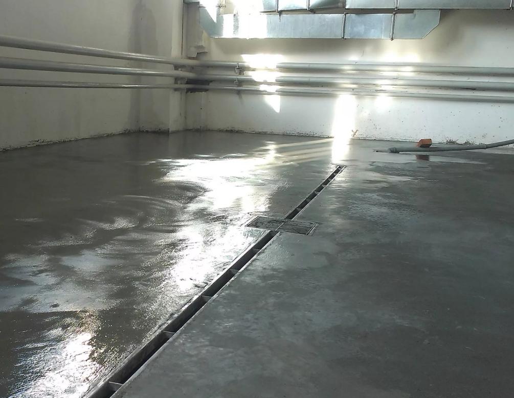 Защита полов из бетона