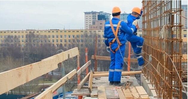 техника безопасности требования к строительным лесам